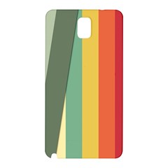 Texture Stripes Lines Color Bright Samsung Galaxy Note 3 N9005 Hardshell Back Case