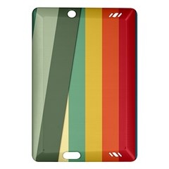 Texture Stripes Lines Color Bright Amazon Kindle Fire HD (2013) Hardshell Case