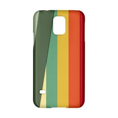 Texture Stripes Lines Color Bright Samsung Galaxy S5 Hardshell Case