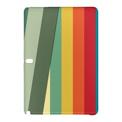 Texture Stripes Lines Color Bright Samsung Galaxy Tab Pro 10.1 Hardshell Case