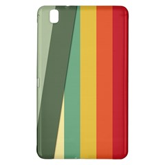 Texture Stripes Lines Color Bright Samsung Galaxy Tab Pro 8.4 Hardshell Case