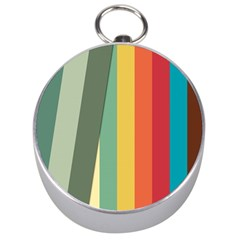 Texture Stripes Lines Color Bright Silver Compasses