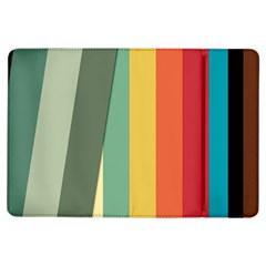 Texture Stripes Lines Color Bright iPad Air Flip