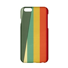 Texture Stripes Lines Color Bright Apple iPhone 6/6S Hardshell Case