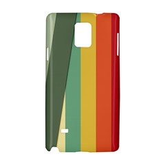 Texture Stripes Lines Color Bright Samsung Galaxy Note 4 Hardshell Case