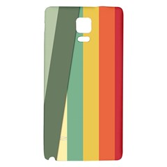 Texture Stripes Lines Color Bright Galaxy Note 4 Back Case