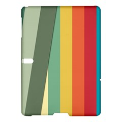 Texture Stripes Lines Color Bright Samsung Galaxy Tab S (10 5 ) Hardshell Case