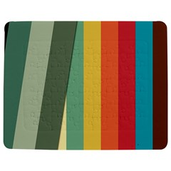 Texture Stripes Lines Color Bright Jigsaw Puzzle Photo Stand (Rectangular)