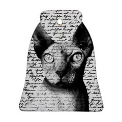 Sphynx cat Bell Ornament (Two Sides)