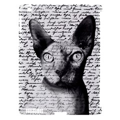 Sphynx cat Apple iPad 3/4 Hardshell Case (Compatible with Smart Cover)