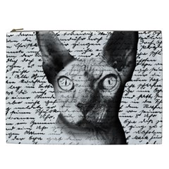 Sphynx cat Cosmetic Bag (XXL)
