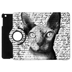 Sphynx cat Apple iPad Mini Flip 360 Case