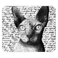 Sphynx cat Double Sided Flano Blanket (Small)