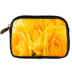 Yellow Neon Flowers Digital Camera Cases