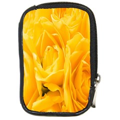 Yellow Neon Flowers Compact Camera Cases