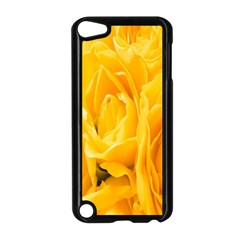 Yellow Neon Flowers Apple iPod Touch 5 Case (Black)