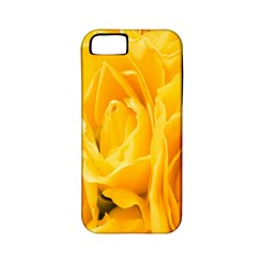 Yellow Neon Flowers Apple iPhone 5 Classic Hardshell Case (PC+Silicone)