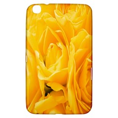 Yellow Neon Flowers Samsung Galaxy Tab 3 (8 ) T3100 Hardshell Case