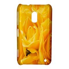 Yellow Neon Flowers Nokia Lumia 620