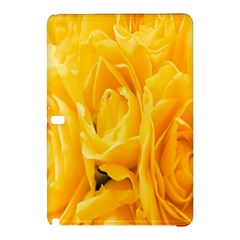 Yellow Neon Flowers Samsung Galaxy Tab Pro 10.1 Hardshell Case