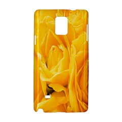 Yellow Neon Flowers Samsung Galaxy Note 4 Hardshell Case
