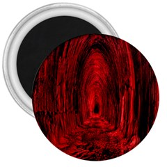 Tunnel Red Black Light 3  Magnets