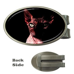 Sphynx cat Money Clips (Oval)