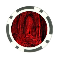 Tunnel Red Black Light Poker Chip Card Guard (10 pack)
