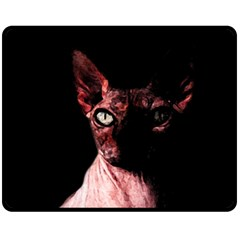 Sphynx Cat Fleece Blanket (medium)