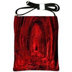 Tunnel Red Black Light Shoulder Sling Bags