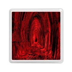 Tunnel Red Black Light Memory Card Reader (Square)