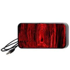 Tunnel Red Black Light Portable Speaker (Black)