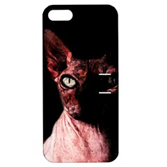 Sphynx cat Apple iPhone 5 Hardshell Case with Stand