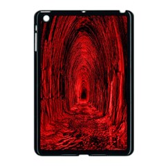 Tunnel Red Black Light Apple iPad Mini Case (Black)