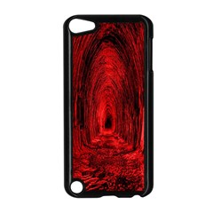 Tunnel Red Black Light Apple iPod Touch 5 Case (Black)