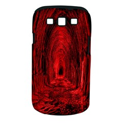 Tunnel Red Black Light Samsung Galaxy S Iii Classic Hardshell Case (pc+silicone)