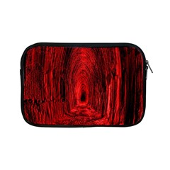 Tunnel Red Black Light Apple iPad Mini Zipper Cases