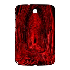 Tunnel Red Black Light Samsung Galaxy Note 8 0 N5100 Hardshell Case