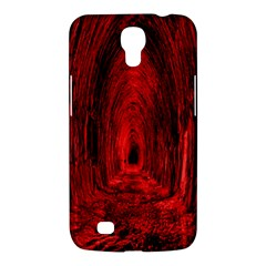 Tunnel Red Black Light Samsung Galaxy Mega 6.3  I9200 Hardshell Case