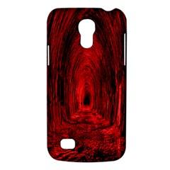 Tunnel Red Black Light Galaxy S4 Mini