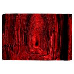 Tunnel Red Black Light iPad Air Flip