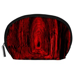 Tunnel Red Black Light Accessory Pouches (Large)