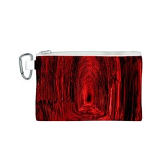 Tunnel Red Black Light Canvas Cosmetic Bag (s)