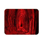 Tunnel Red Black Light Double Sided Flano Blanket (Mini)  35 x27 Blanket Front