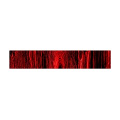 Tunnel Red Black Light Flano Scarf (Mini)