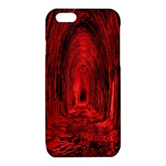 Tunnel Red Black Light iPhone 6/6S TPU Case