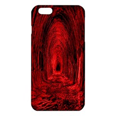 Tunnel Red Black Light iPhone 6 Plus/6S Plus TPU Case