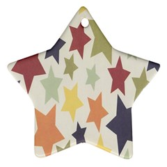 Star Colorful Surface Ornament (star)