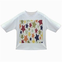 Star Colorful Surface Infant/toddler T Shirts