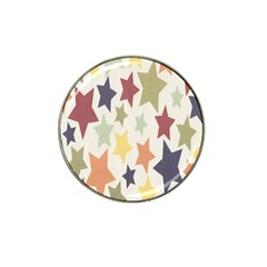 Star Colorful Surface Hat Clip Ball Marker